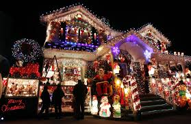 homes decorated for christmas on long island home decor