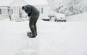 snow shoveling safety tips travelers insurance