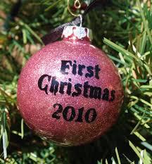 handmade glittered bauble ornament tutorial