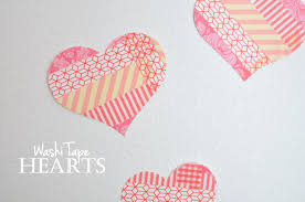 Washi Tape What Is It Washi Tape Hearts Leona Lane