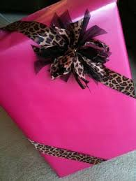 leopard wrapping paper wrapping paper is and all but honestly it s a bit