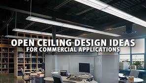 open office lighting design open ceiling lighting design ideas for commercial applications lbc