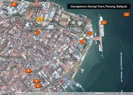 Georgetown Map Penang Malaysia U2013 Joetourist