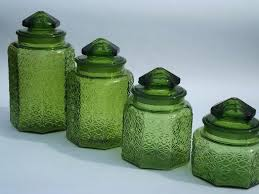 kitchen canisters green glass canisters for kitchen a 1 4 1 4 clear glass kitchen canisters