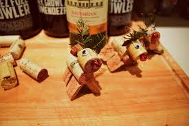 how to make reindeer cork ornaments diy the emerald journal