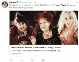 Hocus Pocus Meme - hocus pocus is getting a reboot with a new cast and none of you are