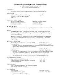 Civil Engineering Resumes Digital Electronics Engineer Resume Electrical Engineering Cv