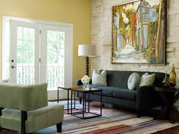 color ideas for living room walls behind the color yellow hgtv