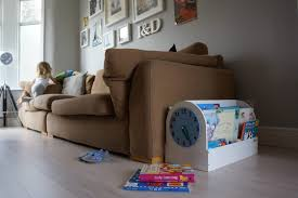 introducing clever book storage solution for children tidy