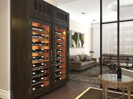 cabinet mount wine cooler refrigerated wine cabinets wine storage wine displays wine lockers
