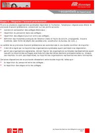 calcul repartition sieges elections professionnelles les é des élections des délégués du personnel pdf