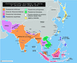 Asia On Map by Colonisation Of Asia On Emaze