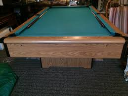 Just saying goodbye to my son s pool table He and his friends