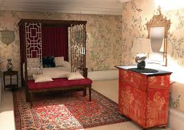 oriental bedroom design with attractive look oriental house