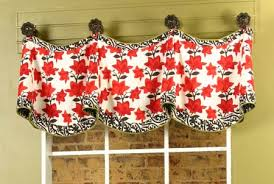 Window Curtain Valance Claudine Curtain Valance Sewing Pattern Pate Meadows