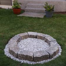 diy backyard fire pit build it in just 7 easy steps