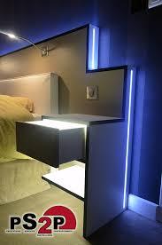 chambre led une tête de lit lumineuse grâce à l éclairage led led