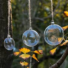 free shipping wedding bauble ornaments tree glass