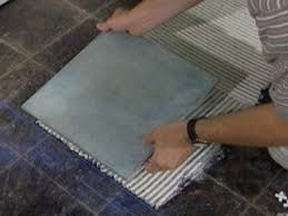 Basement Floor Tiles How To Tile A Floor How Tos Diy