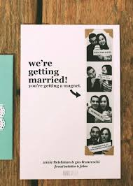 inexpensive save the date cards 24 creative diy save the dates your guests will magnets