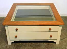 glass top display coffee table photos of glass top display coffee tables with drawers showing 9 of