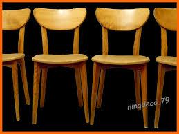 meuble design vintage magnifique suite de 4 chaises teck design scandinave meubles et