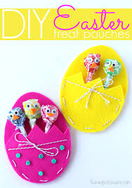 easter bags diy easter treat bags craft for kids