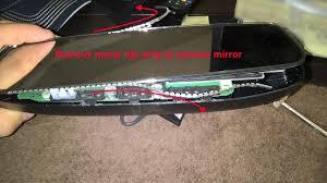 lexus nx mirror diy fix that creaking rearview mirror clublexus lexus forum