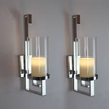 Joselyn Candle Wall Sconce Attractive Glass Wall Sconce Candle Holder Candle Holders Metal