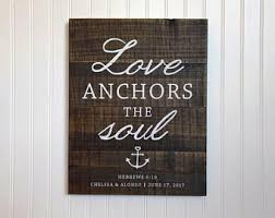 5x7 Love Anchors The Soul - anchors the soul etsy