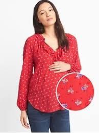 maternity shirts blouses gap