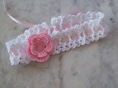 crochet baby headband crochet band crochet 2 bands crochet