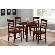 4d concepts 537102 springfield flip half moon table in antique oak