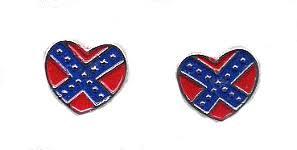 rebel earrings rebel flag jewelry pendants earrings belly button rings