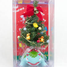 rare pokemon christmas tree venusaur fushigibana figure japan