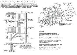 treehouse home plans treehouse home plans tree house plan 2 diy treehouse plans pdf