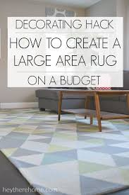 Custom Size Area Rug Who Knew One Thing Could Instantly Change The Look Of My Family