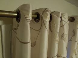 How To Hang Curtain Swags by Grommet Curtains With Sheers