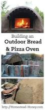 building an outdoor pizza oven homestead honey