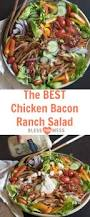 Chicken Main Dish - the best chicken bacon ranch salad of summer u2014 bless this mess