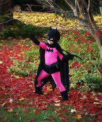 Halloween Costume Batgirl Pink Black Batgirl Costume Batgirl Costume