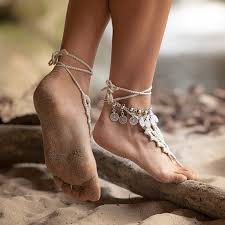 ankle cuff bracelet images Sexy women antique silver coin squirrels anklet bracelet foot jpg