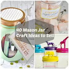 40 jar crafts ideas to make sell