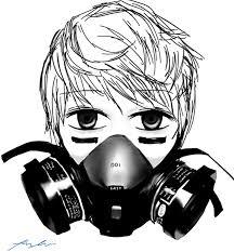 gas mask by yun hui lee on deviantart