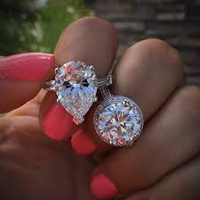 big engagement rings images Big engagement rings raymond lee jewelers jpg