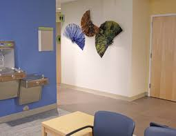 Chinese Wall Fan by Chinese Hospital Outpatient Center Daly City U2013 Grigio Art Consulting