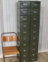 Vintage Metal File Cabinet Vintage Metal Filing Drawers 1950s Original Industrial Cabinets In Uk