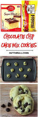 chocolate chip cake mix cookie recipe just 4 ingredients and you