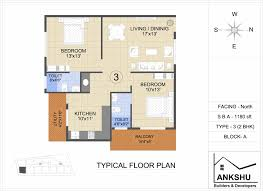 Wisteria Floor Plan by Overview Ankshu Wisteria Ankshu Builders And Developers At