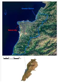 Beirut On Map Land Free Full Text Mapping Urban Transitions In The Greater